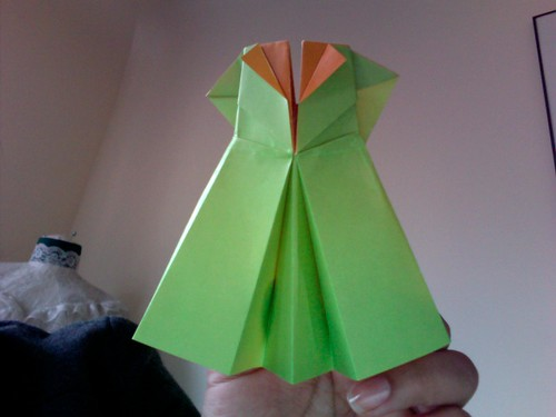 How to make origami girls skirts step by step DIY tutorial ... | 375x500