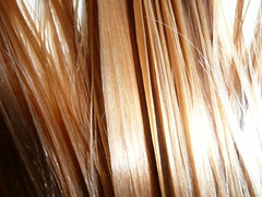 Water Drops (wamhl1) Tags: wet water hair droplets drops blonde comb damp combed