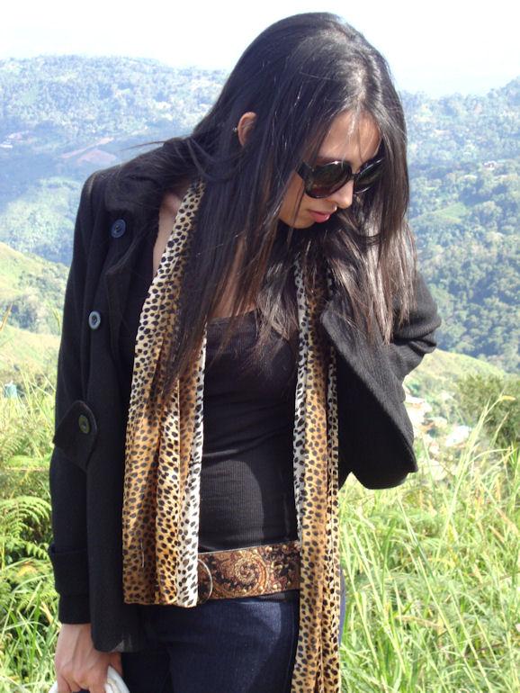 Leopard scarf 3