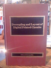 Decoupling and layout of digital printed circuits by Keenan, R. Kenneth, Keenan, R. Kenneth