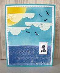 Sea You Soon (2012LaVon) Tags: sss card kit month july 2017