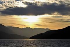 British Columbia ~ magic hour (karma (Karen)) Tags: canada britishcolumbia cruising hollandamerica mountains seas sunsets magichour clouds