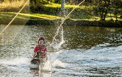 Omnia Cable Ski-0077 (~.Rick.~) Tags: cableski carbrook friends kneeboard omniagroup qld queensland seq team excitement fun ski water australia au