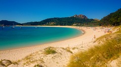 Praia de Rodas (vmribeiro.net) Tags: ilhas cíes galiza espanha praia rodas beach sea vacation sony z1 sonyz1