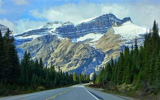 On Icefields Parkway, Jasper - Canada