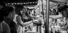 Taking a straw for me and my drinking buddy (gunman47) Tags: 2017 april artbox asia asian b bw east market mono monochrome sg sepia singapore south w black drink eternity eyes loneliness night people photography stall street white