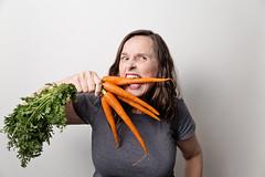 (~ cynthiak ~) Tags: 365 365days 3652017 2017 july july2017 183365 img8850 werehere hereios carrotfun carrots vegetables vegan silliness