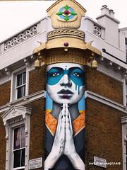 Streetart/graffiti (unusualimage) Tags: findac unusualimage nottinghill streetart