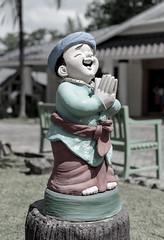 Sawadee Ka (ray_anthony) Tags: nikon nikkor d5100 travel thailand asia southeastasia holiday island outdoor statue greeting sawadeeka hello smile depthoffield dof