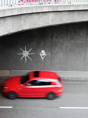 Pink, Rot. / 01.07.2017 (ben.kaden) Tags: berlin berlinmitte grunerstrase streetphotography pink rot 2017 01072017
