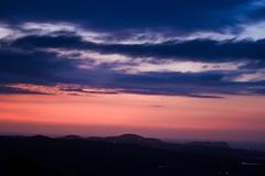 Amaneciendo (ibzsierra) Tags: red sky cloud canon dawn rojo alba amanecer ibiza cielo panoramica eivissa nube baleares digitalcameraclub 400d