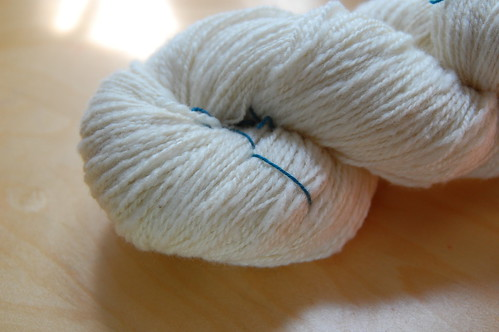 95% cormo, 5% silk
