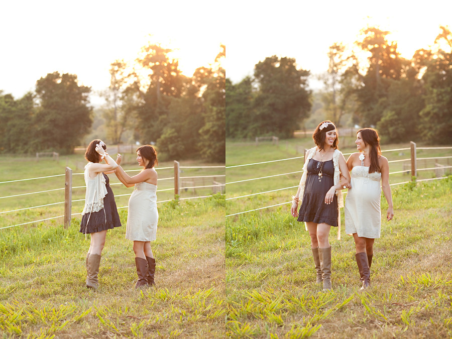 Lauren and Kristin~ Editorial Maternity Shoot