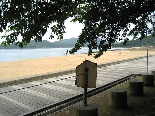 因島 モアイ とビーチ 画像7