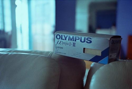 Olympus μ[mju:]-II box