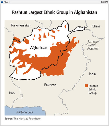 Pushtan Region in Afghanistan