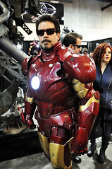 Tony Stark as Iron Man (AaronBerkovich) Tags: costumes comics lights costume sandiego aaron ironman convention conventioncenter comicconvention tonystark ironmanarmor berkovich starkindustries ironman2 ironmancostume comiccon2010 sandiegocomiccon2010 aaronberkovich photosbyaaronberkovich photobyaaronberkovich photographsbyaaronberkovich