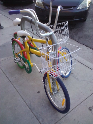Are these stolen Google bikes?