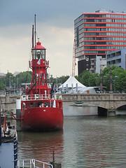 Feuerschiff Rotterdam (Priska B.) Tags: light holland rotterdam ship nederland schepen nederlandse feuerschiff schep niederlanden wbnawnl