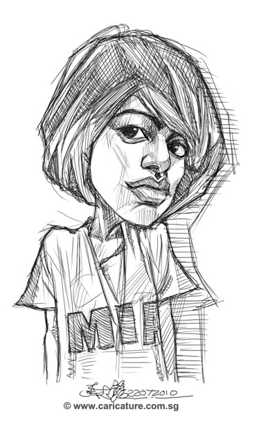 digital sketch of MIA - 4