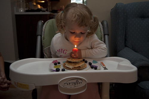Birthday pancakes!