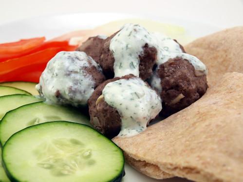 Beef Schwarma Meatballs