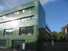 Institut fur Spitalpharmazie (jpmm) Tags: green architecture switzerland groen basel verre 2010 jacquesherzogpierredemeuron