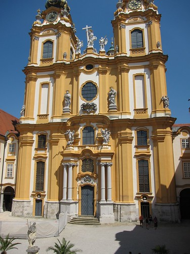 The church at Melk Abbey