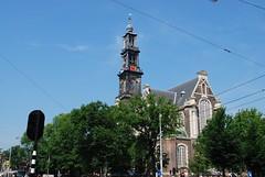 Amsterdam - Westerkerk Prinsengracht 4 (Le Monde1) Tags: city holland netherlands dutch amsterdam nikon capital canals prinsengracht westerkerk d60 lemonde1