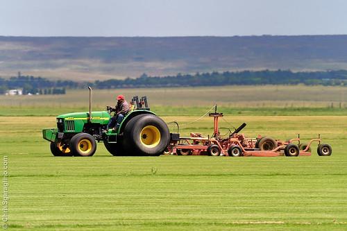 A days work on the sod farm