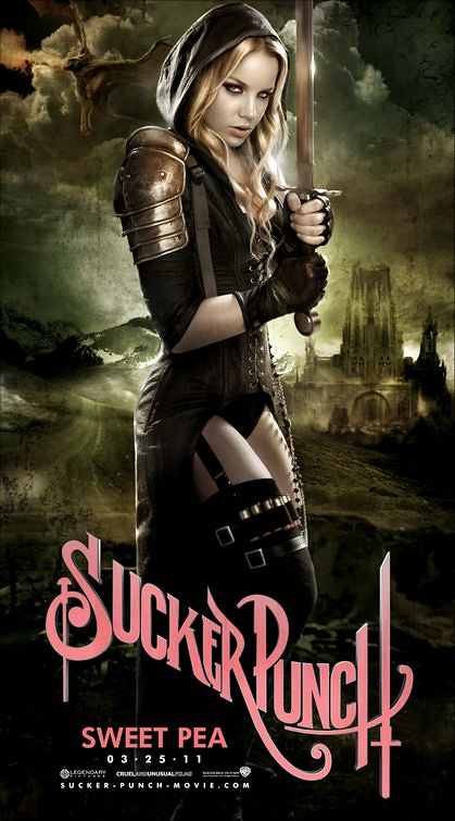 Sucker Punch movie Abbie Cornish as Sweet Pea