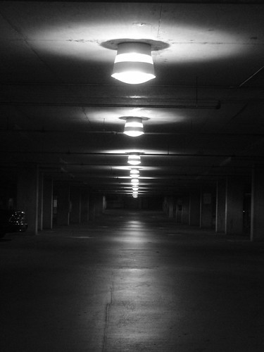 parking garage lights