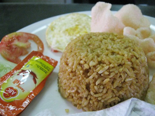 Nasi Goreng at Train