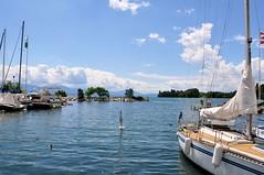 Port du Petit Bois (Diegojack) Tags: soleil eau lac paysages