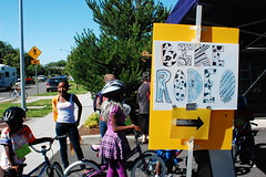 Bikes for Kids at New Columbia