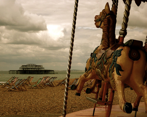 Carousel on the Beach
