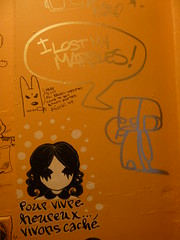 Kozik in the Rotofugi bathroom