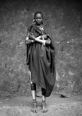 Surma woman - Kibbish Ethiopia (Eric Lafforgue) Tags: woman girl grande artistic serious culture bodylanguage tribal ornament tribes omovalley tall bodypainting tradition tribe ethnic rite surma tribo adornment pigments ethnology tribu omo eastafrica thiopien suri etiopia ethiopie etiopa 2815  etiopija ethnie ethiopi  etiopien etipia kibish  etiyopya  nomadicpeople         kibbish peopleoftheomovalley peoplesoftheomovalley