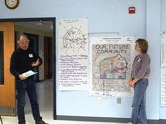 public charrette in Adams County, PA (National Trust for Historic Preservation, via the ICMA report)