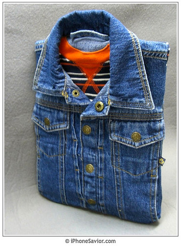 iPad Demin Jacket Case