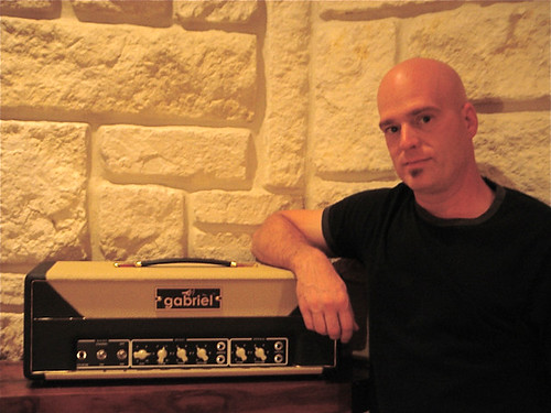 Barry Graul of MercyMe and his Gabriel V33 Head