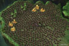 Starcraft 2 Zerglings Swarm