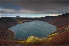 Red crater (Andras Gyorosi) Tags: travel trekking island iceland laugavegur nikon hiking adventure highland altopiano viaggio izland islanda laugavegurinn avventura escursione d700 andrasgyorosi gyorosi