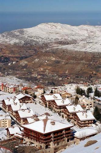 11地中海型氣候 - 黎巴嫩(冬季)Lebanon Snow Skiing in Farayya