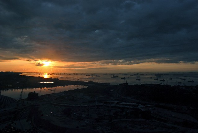 Dawn - Marina Bay Sands - Sea View