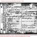 Julia Ann Inman Denton Death Certificate