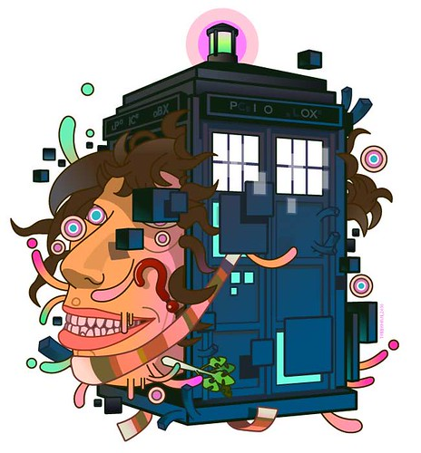 an alteration through the doctor and his magical box