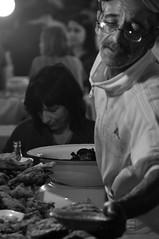 Marrakech (Morocco) - Bon appetite (๑۩๑ V ๑۩๑) Tags: blackandwhite bw food mountain mountains monochrome night nikon noiretblanc streetlife morocco maroc atlas marrakech marrakesh souq djemaelfna noireetblanc negroyblanco d90 maghrib ilobsterit
