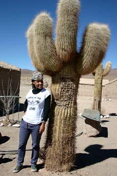 Adrienne y Cactus