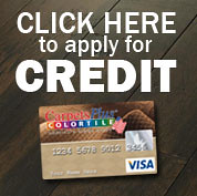Apply for Credit at CarpetsPlus Color Tile